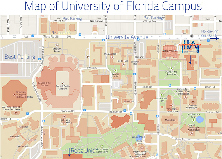 UF Campus Map